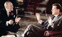 Leslie Phillips and John Hurt in Scandal