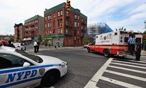 NYPD FDNY shooting Brooklyn New York
