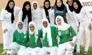The Jeddah Kings United, Saudi women's football squad.