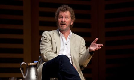 Sebastian Faulks at the Guardian book club event