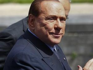 Silvio Berlusconi, last week.