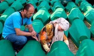Srebrenica funeral