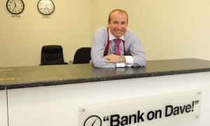 Dave Fishwick, Bank of Dave