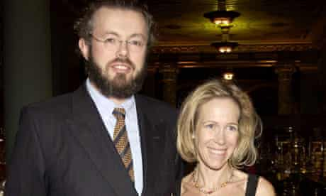 Hans Kristian and Eva Rausing at a charity gala dinner in 2003.