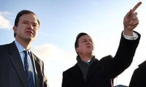 Jesse Norman with David Cameron
