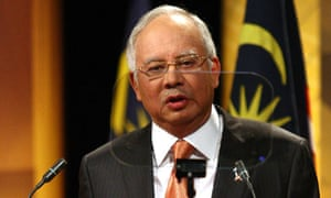 Malaysian prime minister, Najib Razak, who is to repeal the Sedition Act
