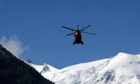 Mont Blanc rescue efforts