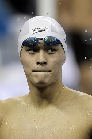 Olympic characters: Swimming Day Nine - 14th FINA World Championships