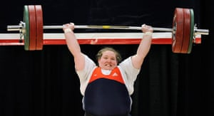 Olympic characters: 2012 U.S. Olympic Team Trials - Women's Weightlifting