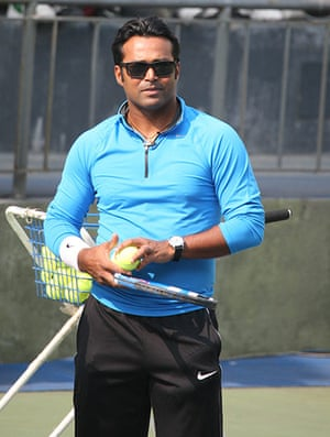 Olympic characters: Leander Paes