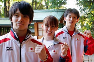 Olympic characters: The Tanakas
