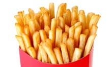 The sort of chips known as French fries