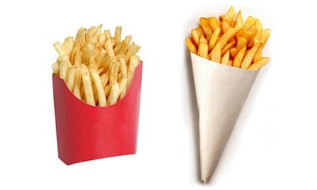 Fries v chips