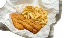 English fish and chips
