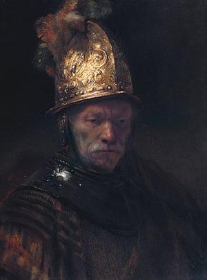 German gallery: Man in a Golden helmet