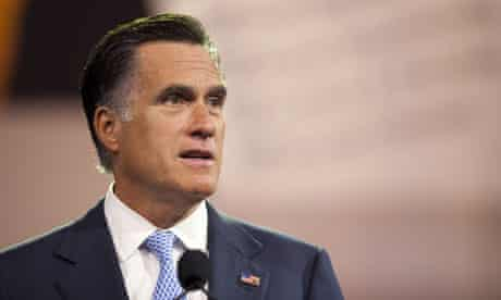 Mitt Romney Addresses NAACP