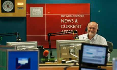 Final BBC World Service news bulletin from Bush House