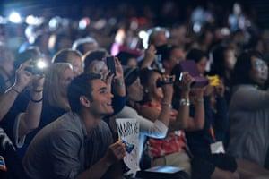 "Comic con: Fans attend ""The Twilight Saga: Breaking Dawn - Part 2"" panel"