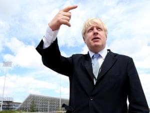 Boris Johnson: onwards and upwards