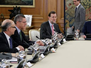 Spanish cabinet meeting to approve €65bn austerity package.