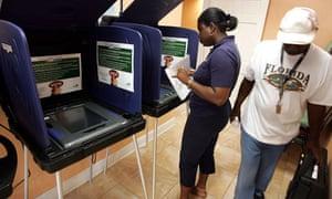 Florida Election Day 2004
