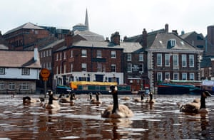 A Longer View - Flooding: River Ouse burst its banks and following heavy rainfall