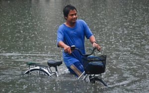 A Longer View - Flooding: Heavy Floods Innundate Parts Of Metro Manila
