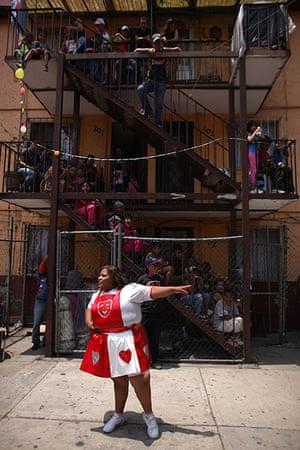 Lucha Libre, Mexico: Lucha Libre wrestler Big Mama performs