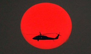 US Black Hawk helicopter