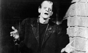 Boris Karloff in <Frankenstein>