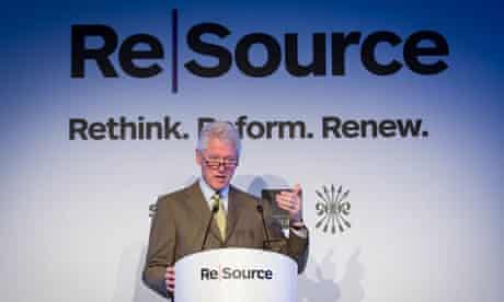Bill Clinton speaks at Resource 2012