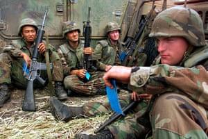 US Army Camouflage: Yugoslavia Marines