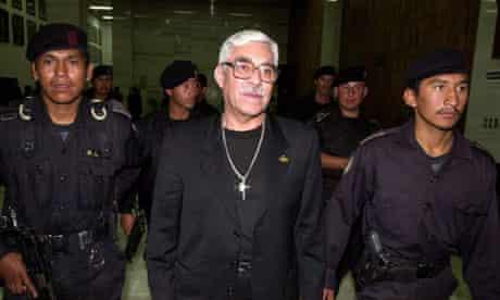Ex-colonel Byron Disrael Lima Estrada