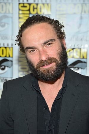 """Comic-con: ohnny Galecki attends """"The Big Bang Theory"""" Press Room"""