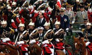 Francois Hollande on Bastille Day