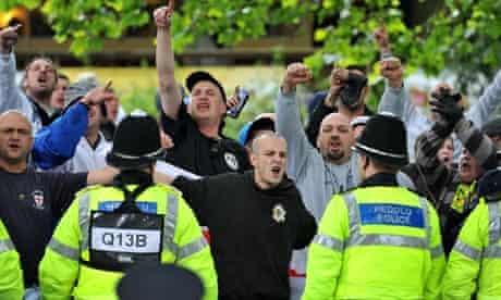 EDL in Bristol