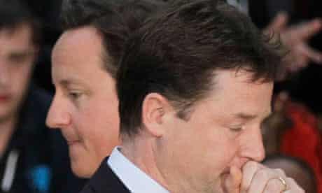 David Cameron, Nick Clegg