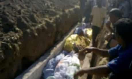 Tremseh massacre video still