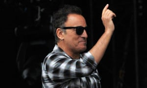 Bruce Springsteen had to leave the Hyde Park stage in silence when his microphone was switched off.