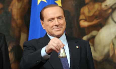 Silvio Berlusconi, who has begun jogging to try to lose 8kg