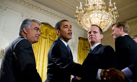 USA - Politics - President Obama Meets with Business Leaders