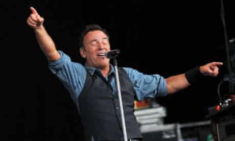 Bruce Springsteen in Hyde Park