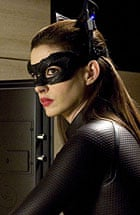Anne Hathaway as Cat Woman