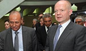 William Hague in Tripoli