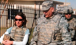 Emma Sky and General Ray Odierno