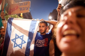 Tel Aviv protests: Demonstrators march through the streets to protest rising housing costs