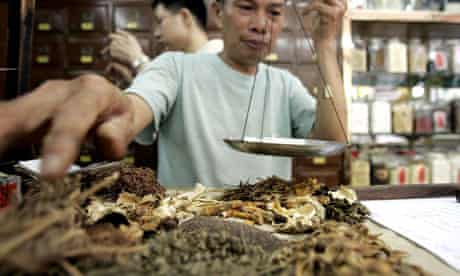 A Chinese herbalist