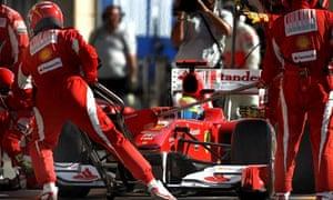 Ferrari at Bahrain Grand Prix