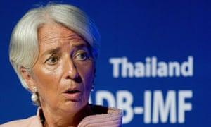 IMF manager Christine Lagarde