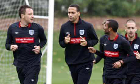 Soccer - John Terry, Rio Ferdinand and Ashley Cole File Photo